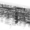 MDOT Office Building – REVIT Wire Frame